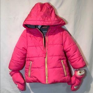 Carter's Jackets & Coats - Carter's Puffer Jacket with matching mittens 12M
